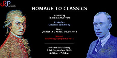 Homage to Classics tickets
