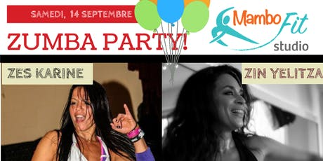 Zumba Party with Karine Opasinski billets