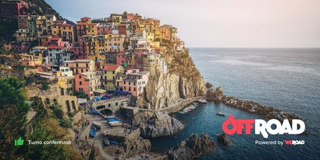 OffRoad: Cinque Terre, trekking tra i borghi colorati della Liguria biglietti