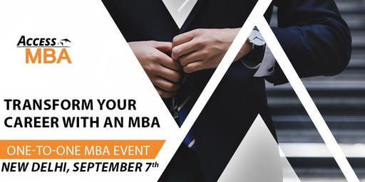 One-to-One MBA Event in New Delhi