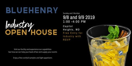 BlueHenry Industry Open House tickets