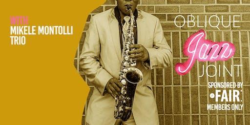 Oblique Jazz Joint: October