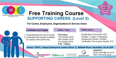 Supporting Carers (Level2)