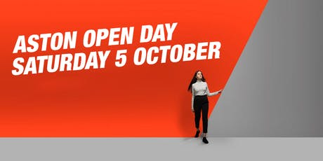Aston Open Day - October 5 tickets