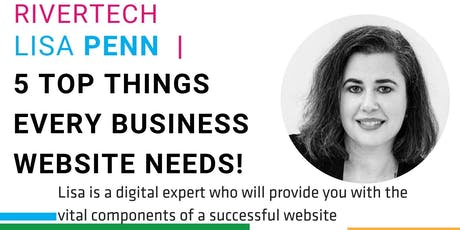 5 Top Things Every Successful Business Website Needs to Get Right! tickets