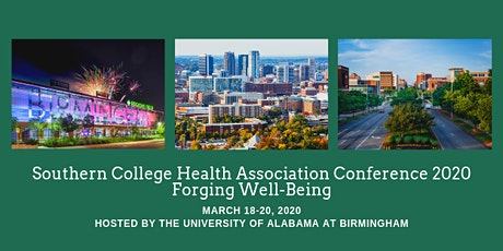 Southern College Health Association Conference 2020 tickets