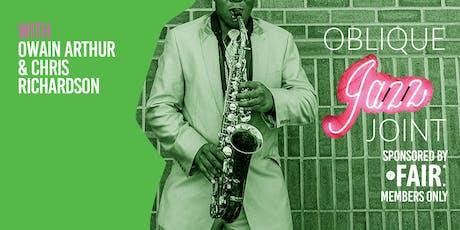 Oblique Jazz Joint: December tickets