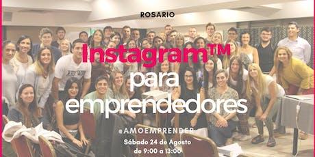 Nueva Fecha Rosario - Instagram para Emprendedores en Rosario entradas