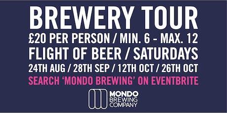 Mondo Brewing - Brewery Tour tickets