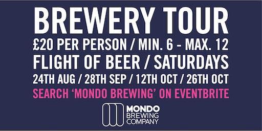 Mondo Brewing - Brewery Tour