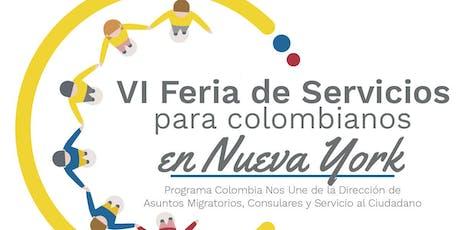 VI FERIA DE SERVICIOS -  UNA OPORTUNIDAD PARA CONECTARSE CON COLOMBIA tickets