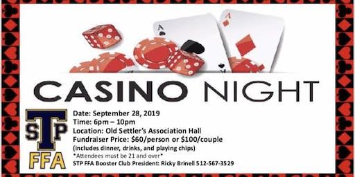 Casino Night Fundraiser SPHS FFA Booster club