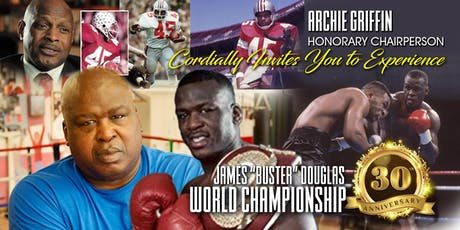 "James ""Buster"" Douglas World Championship 30th Anniversary tickets"
