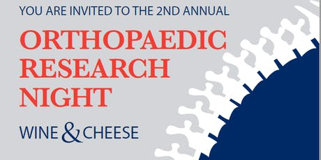 McGill Orthopaedic Research Night Wine & Cheese: 2nd Edition billets