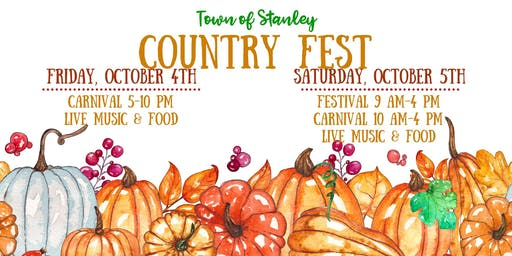 Country Fest Annual Fall Festival