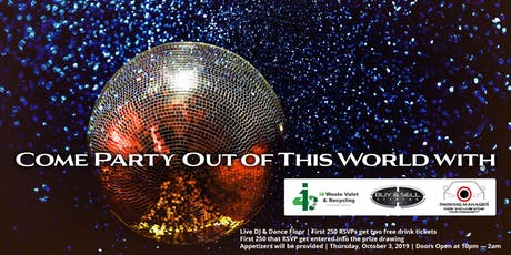 Come Party Out Of This World tickets