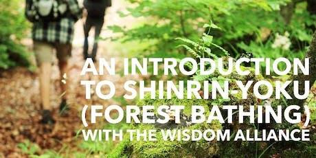 Forest Bathing with Alexandra Lowry - Backyard Gardening Series tickets