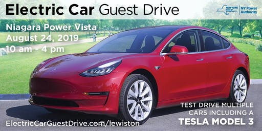 NYPA Electric Car Guest Drive