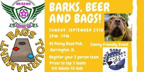 Barks, Beer and Bags! tickets