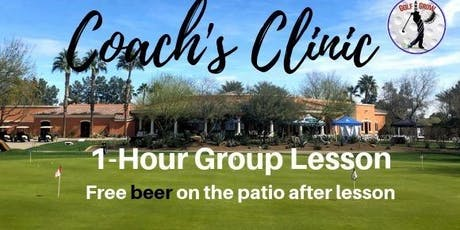 Coach's Clinic - 1 Hr. Group Lesson tickets