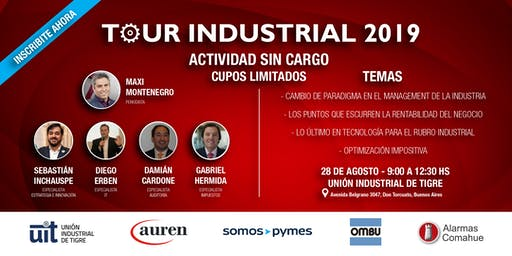 TOUR INDUSTRIAL 2019 - TIGRE
