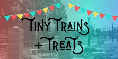 Tiny Trains + Treats tickets