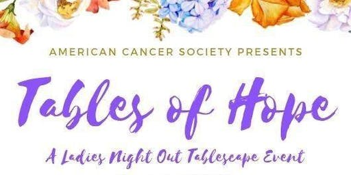 Tables of Hope: Greene County Ladies Night Out