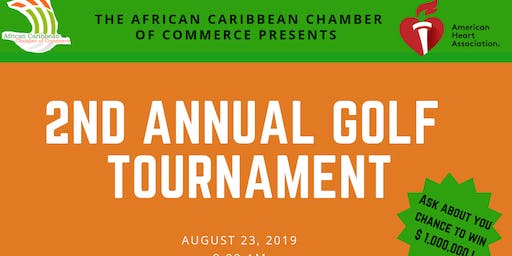 2nd Annual African Caribbean Golf Outing