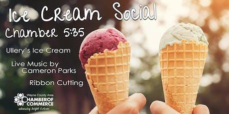 Ice Cream Social- Customer Appreciation & Chamber 5:35 tickets