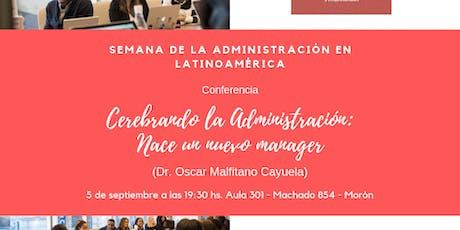 Cerebrando la Administración: NACE un nuevo manager entradas