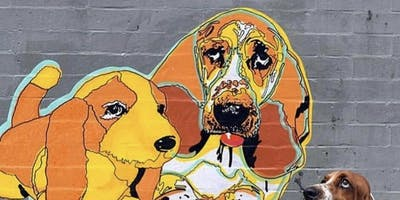 Make Your Own Dog Themed Street Art with Early Riser