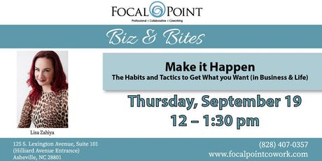 Make it Happen: The Habits and Tactics to Get What you Want (in Business & Life)  tickets