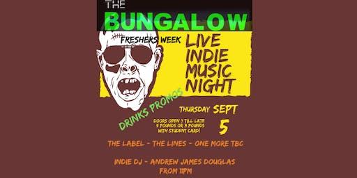 Indie Live Night - Freshers Week