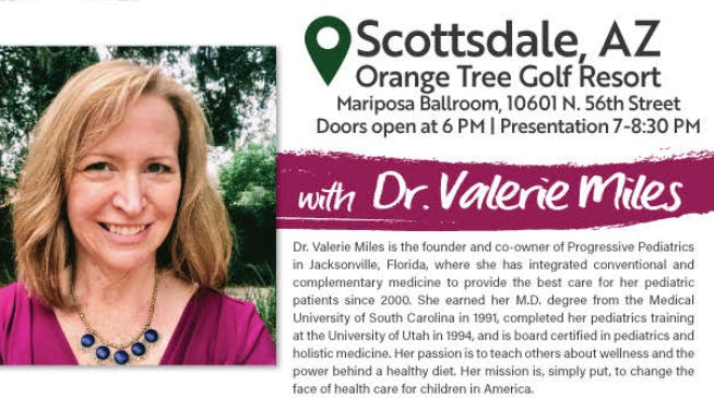 DR. VALERIE MILES - POWER UP YOUR HEALTH!