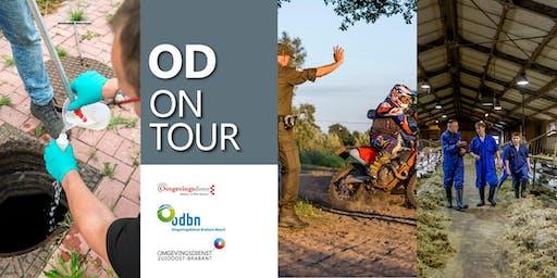 OD on Tour met Boa van SSIB. Bezoeken natuurgebieden omgeving Tilburg en bezoek dassenburchten en zaken ondermijning
