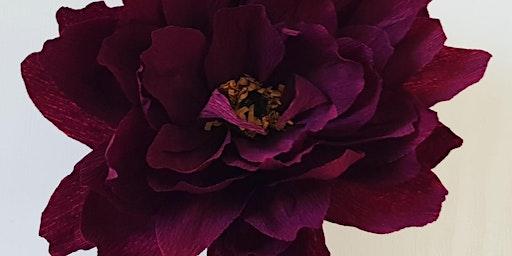 Paper Flower Workshop- craft a Valentines gift