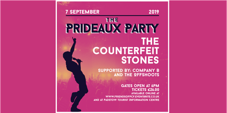 The Prideaux Party tickets