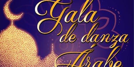 Gala de danza árabe amedaba con orquesta en vivo boletos