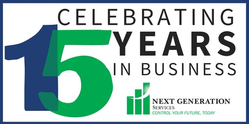 Next Generation's 15th Anniversary Networking Party