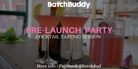 BatchBuddy Classic Cocktail Tasting Session tickets