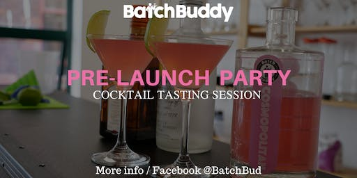 BatchBuddy Classic Cocktail Tasting Session
