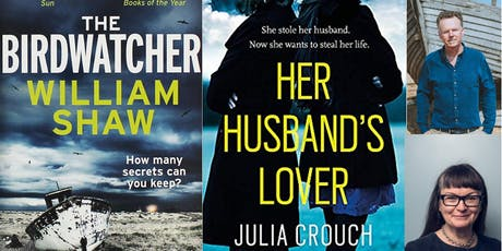 Crime Evening with Authors Julia Crouch & William Shaw tickets