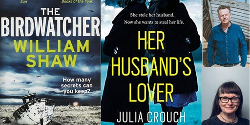 Crime Evening with Authors Julia Crouch & William Shaw