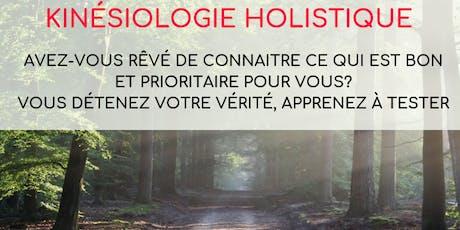 Formation de kinésiologie holistique niveau 1 - Ville de Québec billets