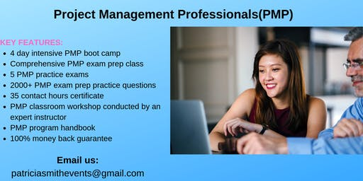 PMP Certification Training Course in Independence, CA