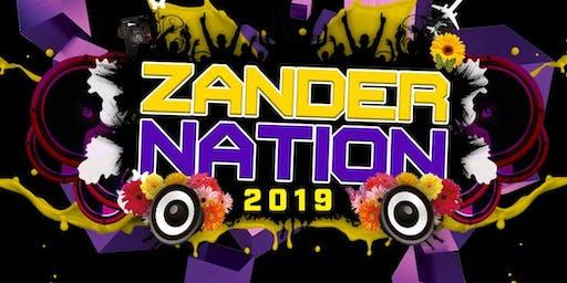 Zander Nation 2019 Live - Freshers Week