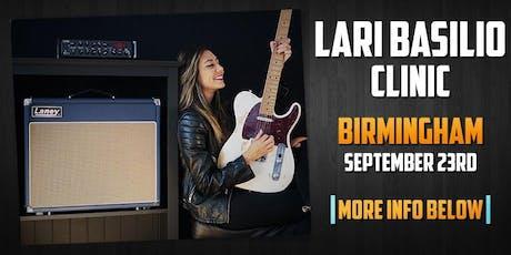 Lari Basilio Clinic at guitarguitar Birmingham  tickets