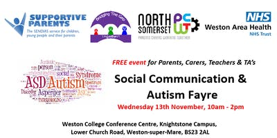 Social Communication & Autism Fayre