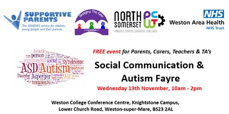 Social Communication & Autism Fayre tickets