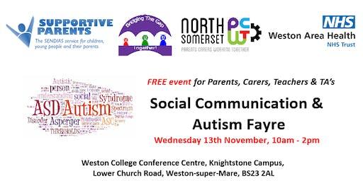 Social Communication & Autism Fayre